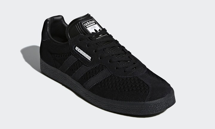 NEIGHBORHOOD x adidas Originals GAZELLE SUPER のオフィシャルフォトが到着