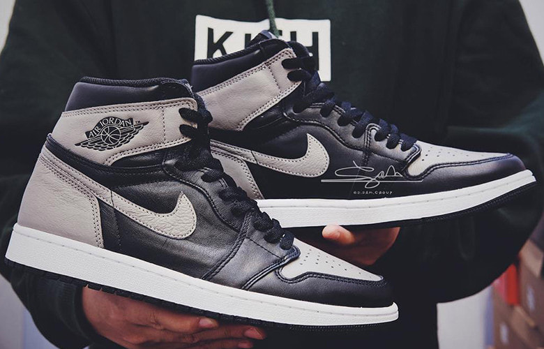 UPDATE:AIR JORDAN 1 RETRO HIGH OG 「SHADOW」 が2018年4月14日に発売予定
