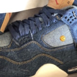 NIKE x Levi's Air Jordan 4 'Denim' のリリース情報がリーク
