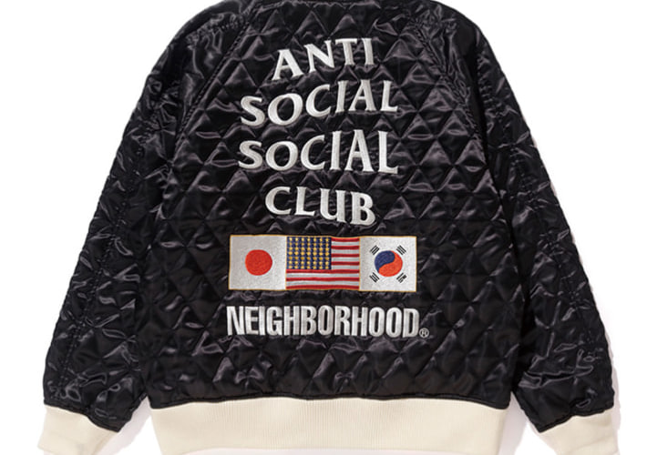 ANTI SOCIAL SOCIAL CLUB x Neighborhood 「The_Answer」のアイテムルックが登場