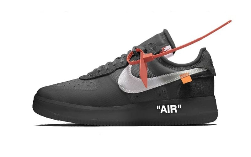 NIKE x OFF-WHITE のAIR FORCE 1 の情報がリーク