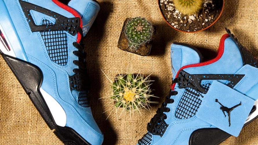 NIKE x Travis Scott Air Jordan 4 「CACTUS JACK」が6月9日にリリース