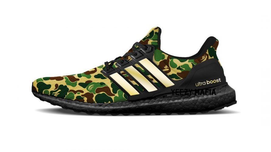 A BATHING APE x adidas ULTRABOOST 新ビジュアルが登場