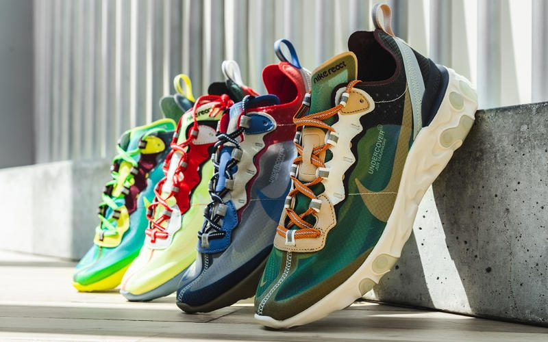 UNDERCOVER x NIKE EPIC REACT ELEMENT が9月13日リリース