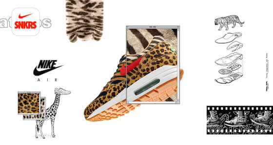 atmos x Nike 「Animal Pack 2.0」が9月22日に再販決定