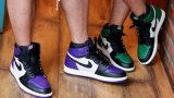 AIR JORDAN 1 RETRO HIGH OG 「COURT PURPLE」「 PINE GREEN」が9月22日発売