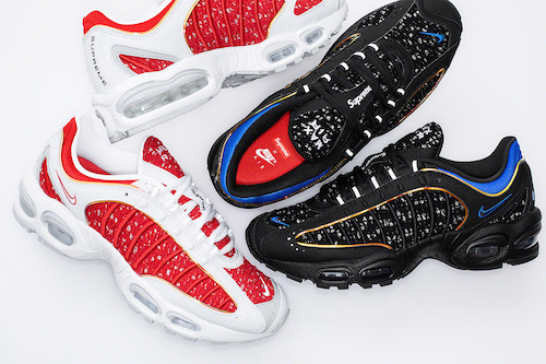 Supreme x NIKE AIRMAX TAILWIND 4 がSNKRSにて3月25日リリース