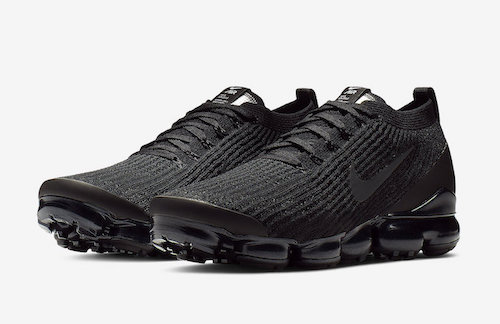 NIKE AIR VAPORMAX 3.0 Triple Blackが近日登場