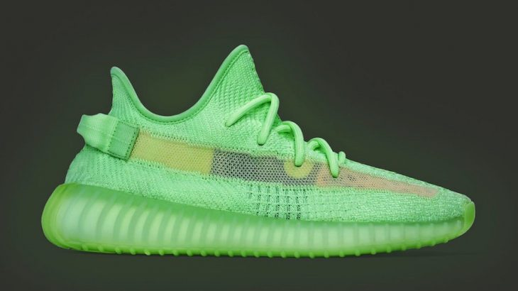 YEEZY BOOST 350V2 GLOW IN THE DARKの国内販売が決定