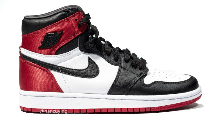 AIR JORDAN 1 BRED TOE SATINが8月リリース