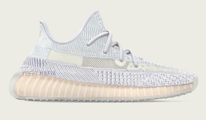 YEEZY BOOST 350 V2 CLOUD WHITE が9月にリリース