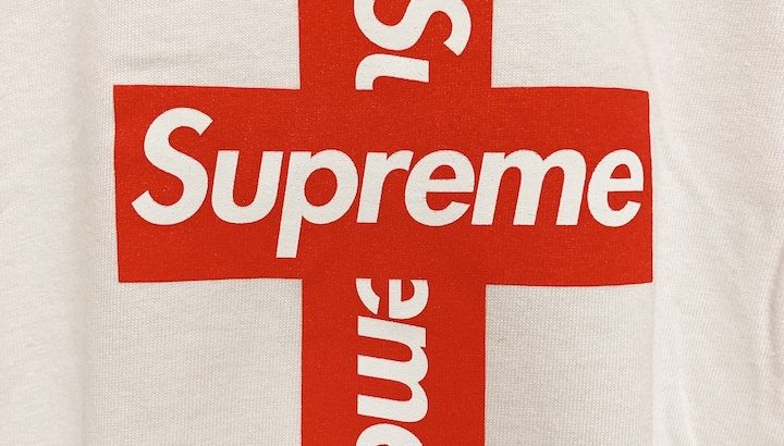 【レビュー】Sureme 2020AW Cross Box Logo tee